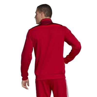chaqueta adidas hombre roja