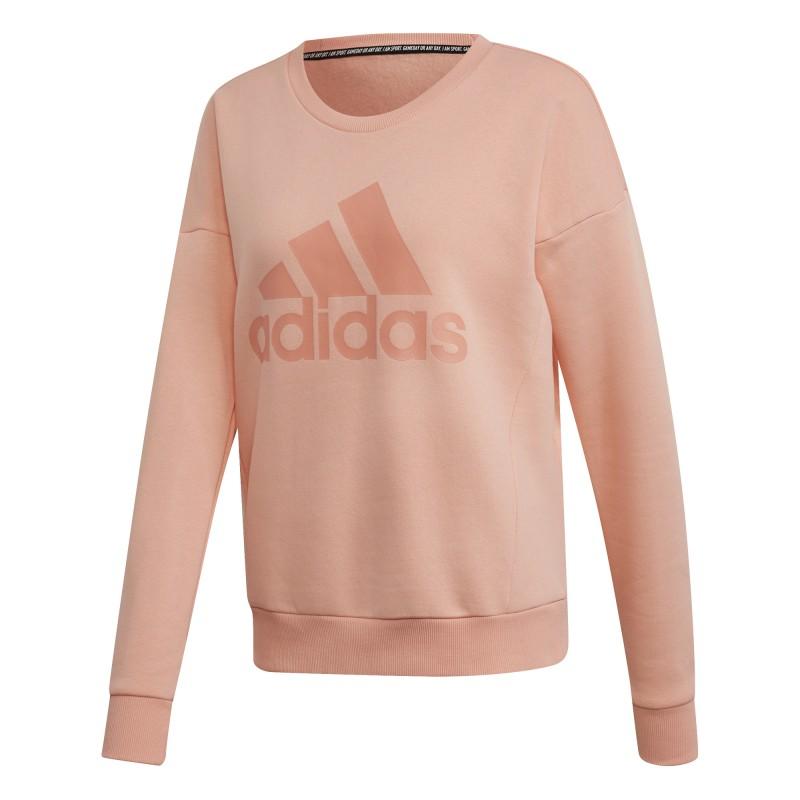 W MH BOS CREW Sudadera Adidas mujer