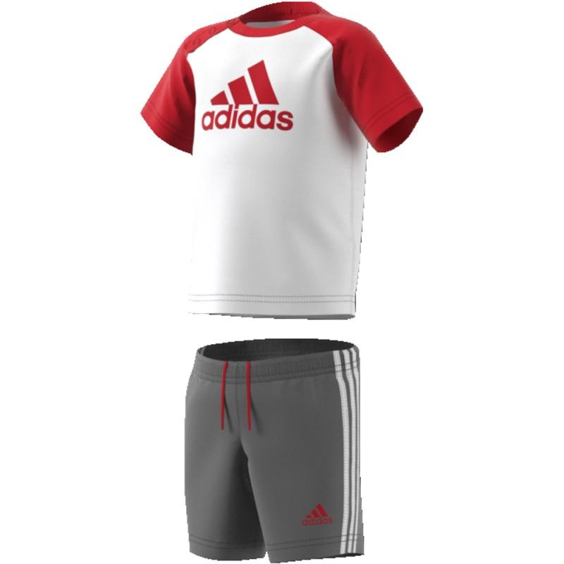 1d8b7a829 Conjunto de algodón para niño de Adidas