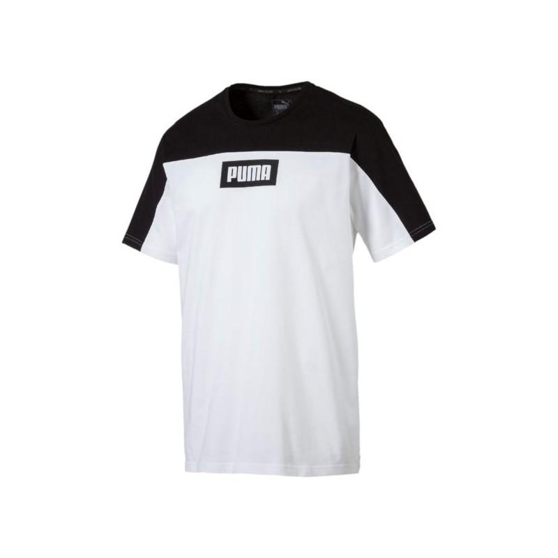 REBEL BLOCK TEE Camiseta Puma algodón hombre. 3e991ce7e1c7b