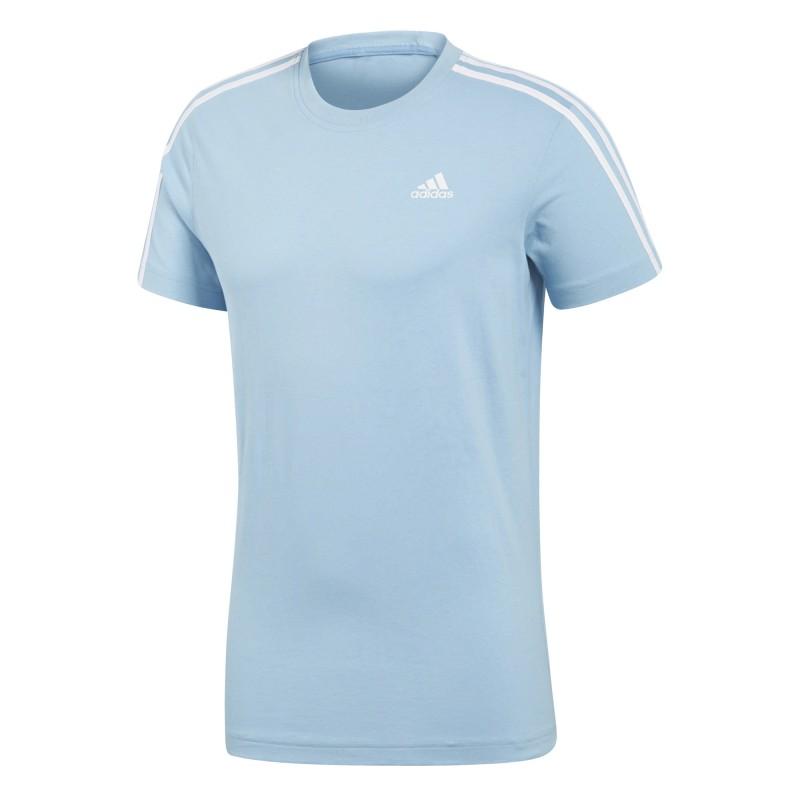 d0dd9c4d5f8cd ESSENTIALS 3 STRIPES TEE Camiseta Adidas algodón hombre