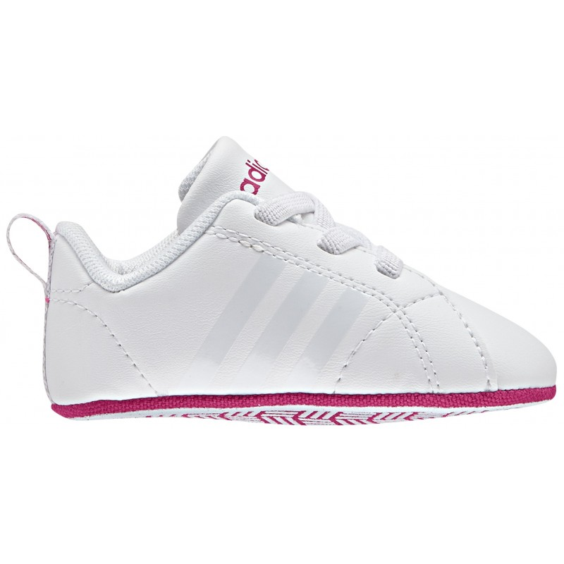 protesta esposa Camello  VS ADVANTAGE CRIB (blanco/rosa) Zapatilla Adidas bebe