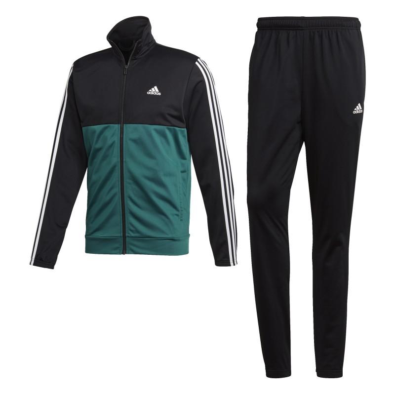 BACK2BAS 3S TS (negroverde) Chandal Adidas hombre