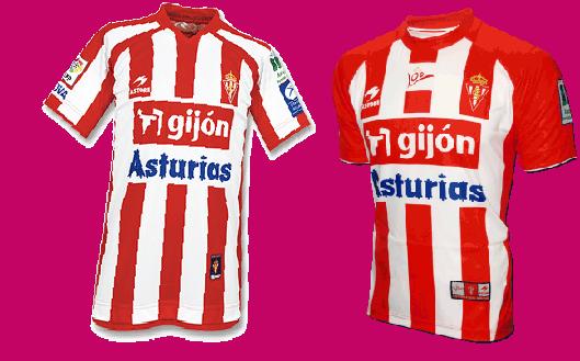 Camisetas Sporting de Gijón Astore