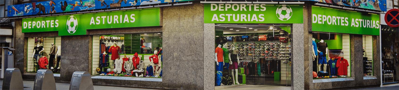 Escaparate tienda Gijón