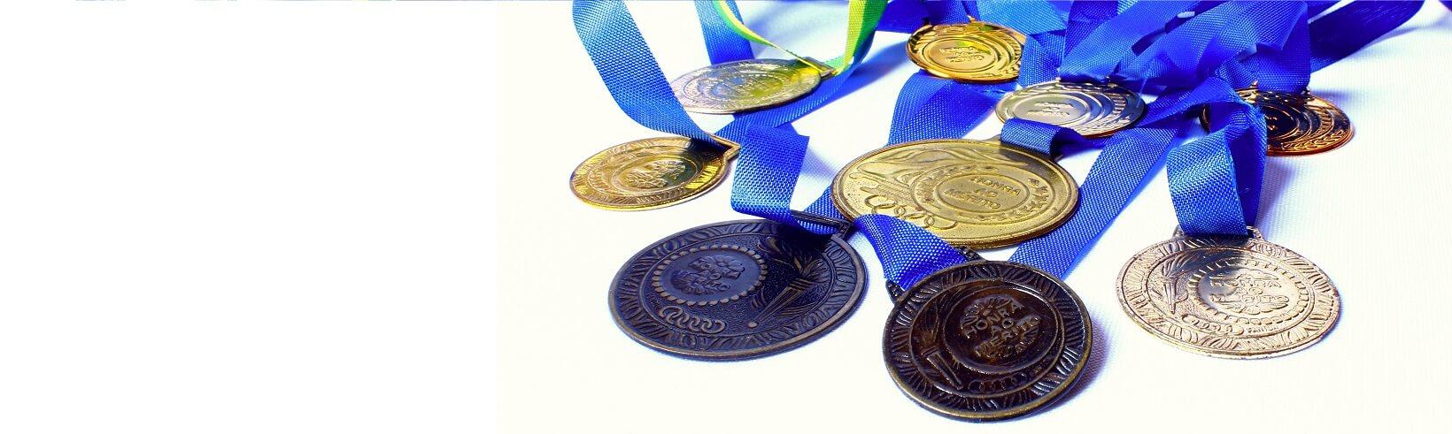 Medallas, copas y trofeos en Gijón