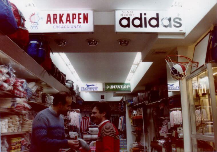 Primera tienda 1985