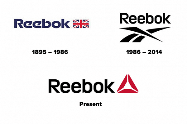 Historia de los logos de Reebok