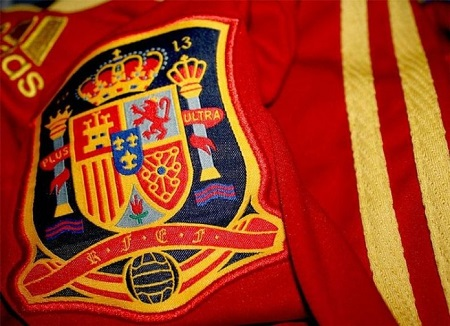 Camiseta oficial selección española